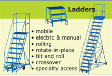 Mobile ladders