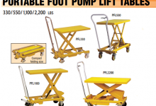 Portable Foot Pump Lift Table