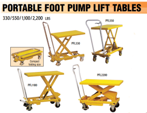 Portable_foot_pump_lift_table