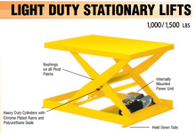 light duty stationary lift