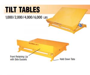 Econo lift tilt table