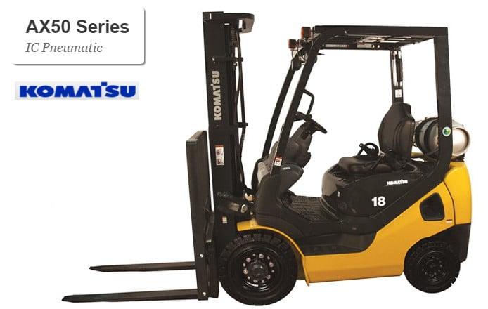 AX50 series pneumatic tire - Komatsu