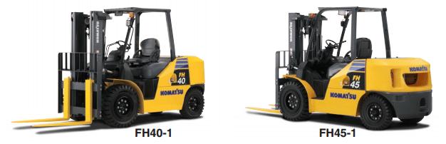 Komatsu Series FH Forklifts