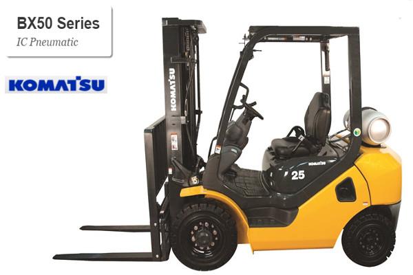 Komatsu BX50 series pneumatic forklift