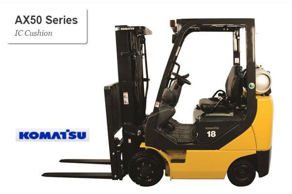 Komatsu AX50 series - Cushion Tire Forklift