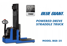 Blue Giant BGS-25 Straddle Truck