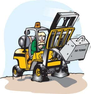 Forklift Driver Training incident