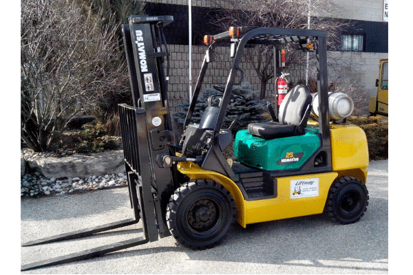 Used Komatsu FG25T-16