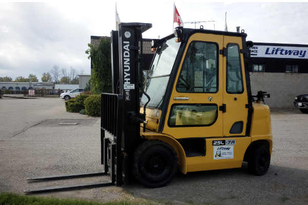 Hyundai Used Forklift 25L-7A