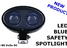 LED Blue Safety Light