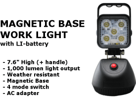 Magnetic Base Worklight