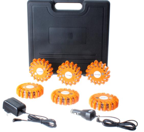 LED Emergency Road Flare Kit